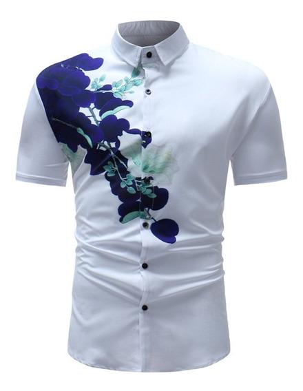 Camisa Polo De Los Nuevo Hombres Verano Impreso Tejido Jacqu