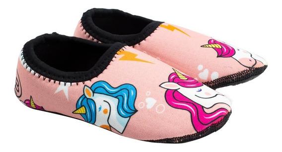 Sapatilha Infantil Sport - Unicornio Rosa Ludique Et Badin (