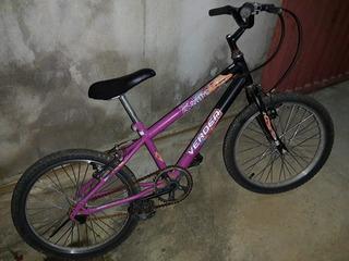 Bicicleta Infantil, Aro 16, Verden Brave, Bom Estado Uso.