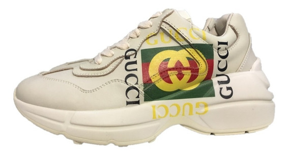 Tenis Sneakers Gucci Rhyton Gliter Envío Gratis