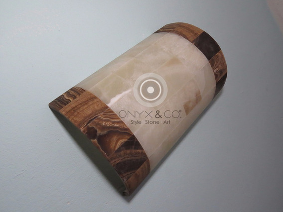 Lámpara De Pared Techo, Onix, Interiores Exteriores 490