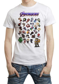 Avengers Chibi Playera End Game Marvel Endgame Infinity