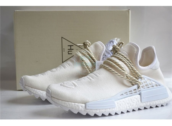Tênis adidas Nmd Hu X Pharrell Williams World Branco