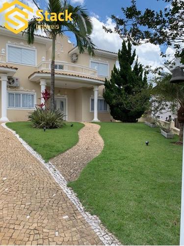 Lindíssimo Sobrado De Alto Padrão Localizado No Condomínio Residencial Dos Lagos - Itupeva, Em Um Terreno De  1568 M² E Uma Área Construída De 326 M² - Ca01685