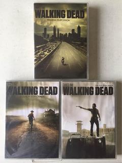 The Walking Dead Dvd Temporadas 1, 2 Y 3. Costo Por Las 3