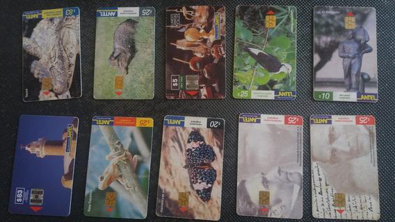 200 Cartões De Orelhão Sem Creditos Do Uruguai