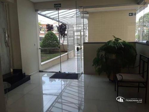 Apartamento Com 3 Dormitórios Para Alugar, 107 M² Por R$ 2.190,00/mês - Nova Petrópolis - São Bernardo Do Campo/sp - Ap0478