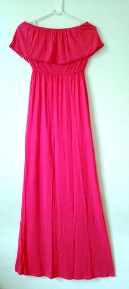 Vestido Strapless Modal Forever 21 - Talle M