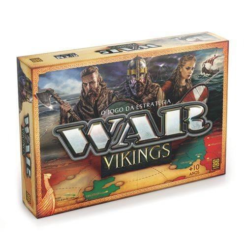 Jogo De Tabuleiro War Vikings - Jogo De Estrategia Da Grow
