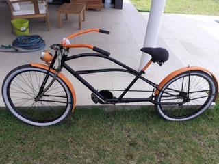 Bicicleta Playera Chopera Larga