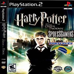 Harry Potter Ps2 E A Ordem De Phoenix Português Patch