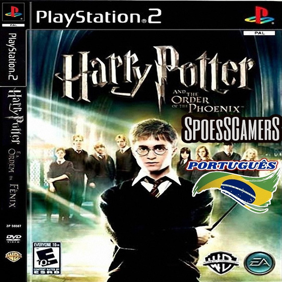 Harry Potter Ps2 E A Ordem De Phoenix Português Patch