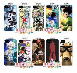 Capinha Capa Hunter X Hunter iPhone 4s 5 5s Se 6 6s 7 8 Plus