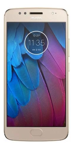 Moto G5s Dual Sim 32 Gb Dourado 2 Gb Ram - Envio Prioritário