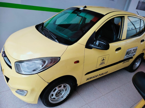 Imagen 1 de 6 de Hyundai I 10 2014 Gas Gasolina Listo Para Trabajar