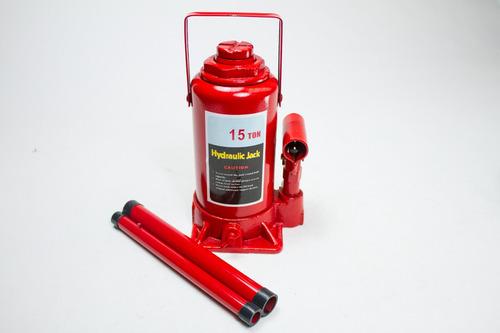 Crique Hidraulico Auto 4x4 Botella 15 Toneladas Reforzado