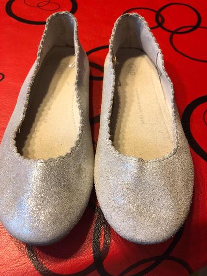 Gap Chatitas Chatas Ballerina Zapatos Niña 18,7 Cm Número 30