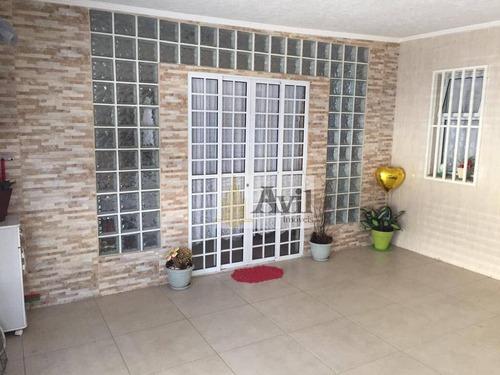 Sobrado Com 3 Dormitórios À Venda, 138 M² Por R$ 650.000 - Vila Formosa - São Paulo/sp - So0499