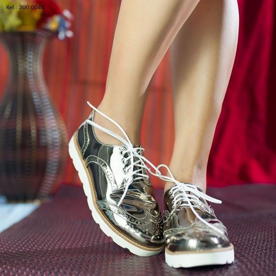 Sapato Oxford Feminino- Lançamento