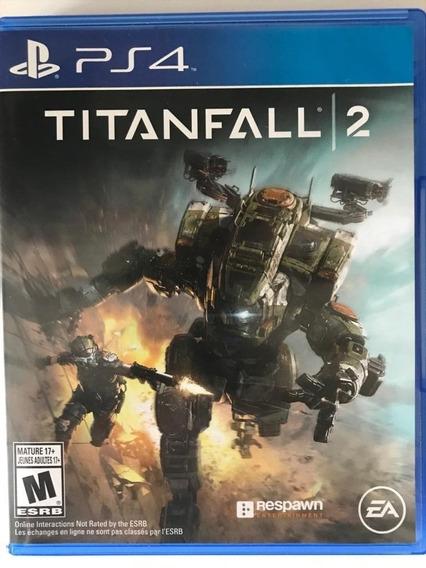 Titanfall 2 Ps4 - Jogo De Ação - Usado Seminovo