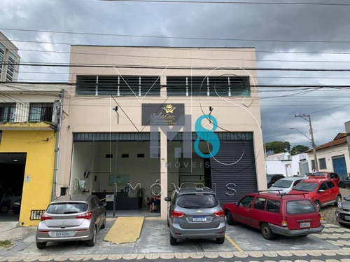 Excelente Prédio Comercial Para Alugar, 300 M² Por R$ 8.000/mês - Jardim Santista - Mogi Das Cruzes/sp - Pr0019