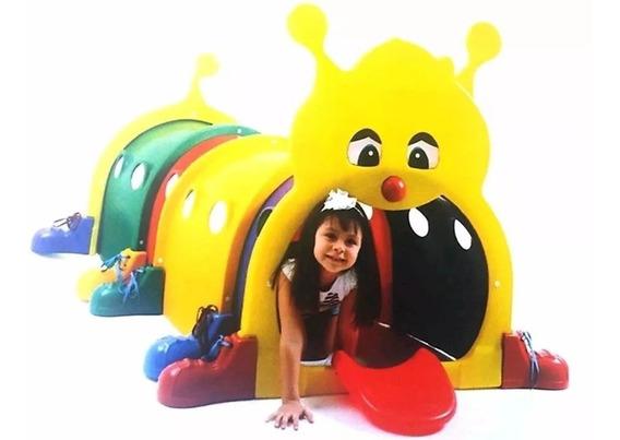 Túnel Lúdico Infantil Centopeia Brinquedo Parque Infantil