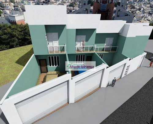 Sobrado À Venda, 105 M² Por R$ 560.000,00 - Ipiranga - São Paulo/sp - So0983