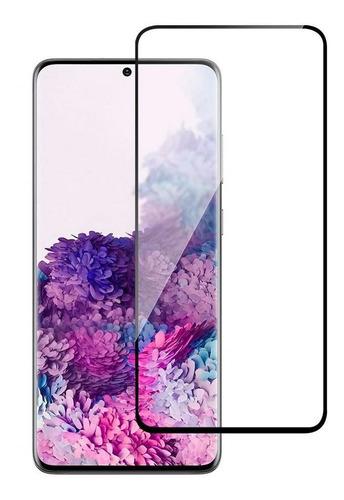 Vidrio Templado Full Cover Samsung S20 Colocado - Otec