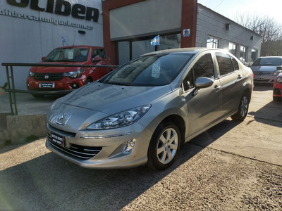 Peugeot 408 1.6 Hdi Allure Nav 2014 Impecable Autolider