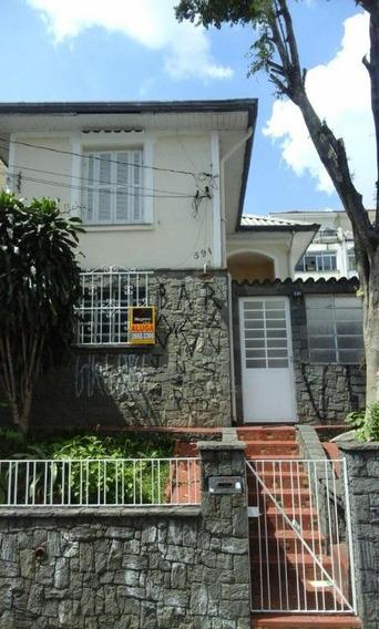 Casa Antiga Residencial Para Locação, Vila Regente Feijó, São Paulo. - Ca0449