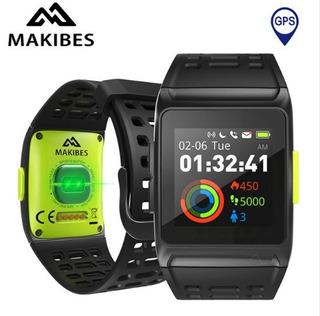 Relógio Makibes Br1 Bluetooth Gps-ciclismo/corrida /strava