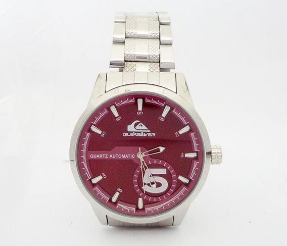 Relógio Quiksilver Prata