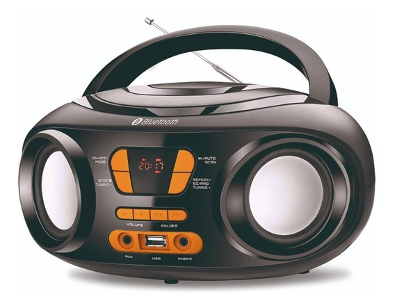 Radio Mondial 6w Rms Bluetooth Fm Usb Mp3 - Nbx-19