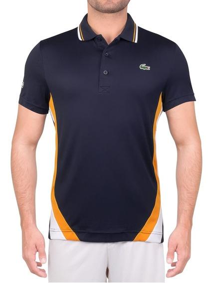 Camisa Polo Lacoste Dh9455 Marinho