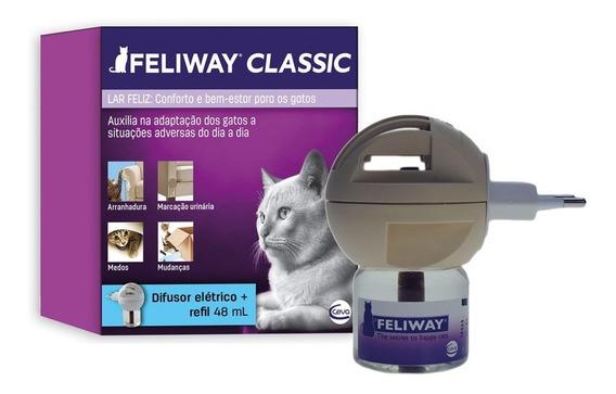 Feliway Classic Difusor + Refil 48ml Feromônio