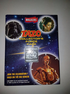 Album Tazo Star Wars Walkers Completo Figurinhas Elma Chips