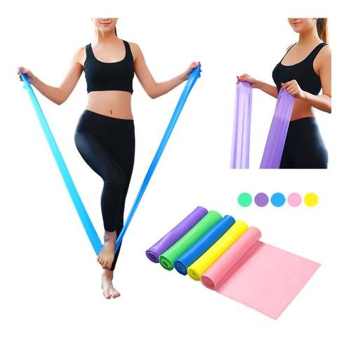 Banda Elástica De Resistencia Para Pilates Yoga / Lhua Store
