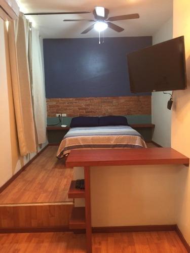 Departamento Amueblado A 1 Cuadra Del Zocalo $5,500.=