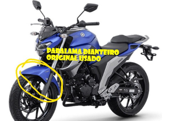 Paralama Dianteiro Yamaha Fazer 250 2018/2020 Original Usado