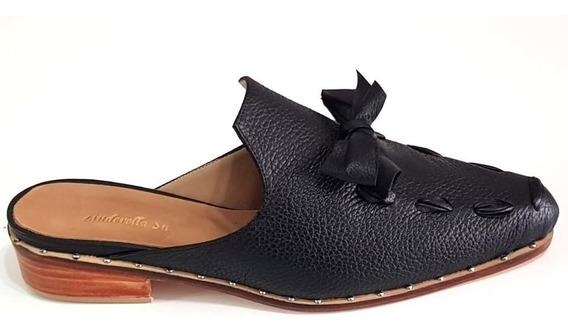 Zapatos Zuecos Cuero Mujer Números 41 42 43 44 Zinderella Shoes