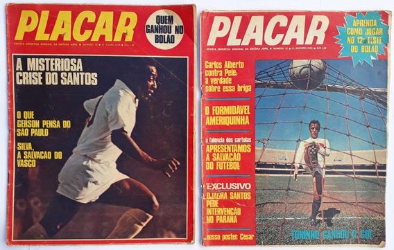 Placar 1970 Abril Com 2 Revista Nº 18 E 23 Rara Frete Grátis