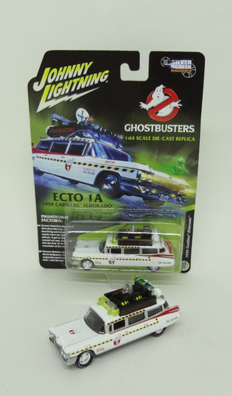 Ghostbusters Ecto-1a - 1959 Cadillac 1/64 - Johnny Lightning