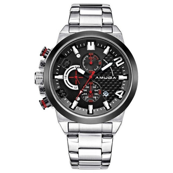 Relógio Amuda Am5015 Masculino Esportivo Funcional Original