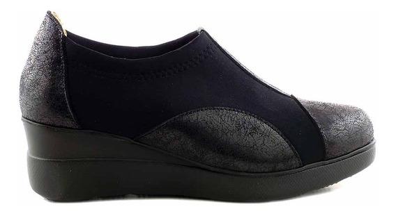 Zapatilla Zapato Cuero Mujer Briganti Confort - Mczp05222