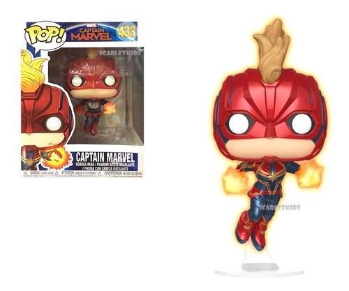 Funko Pop Capitana Marvel 433 Original Scarlet Kids