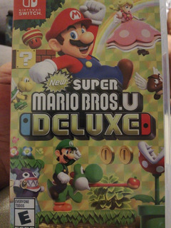 New Super Mario Bros.u Deluxe Nintendo Switch