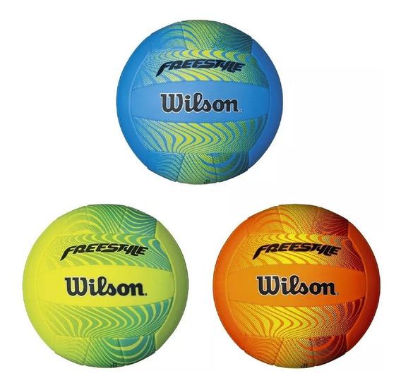 Balón De Voleibol Wilson Pelota De Volleyball Freestyle