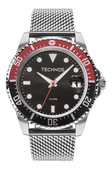 Relógio Masculino Technos Skymaster Caixa Preta 2415cj0p