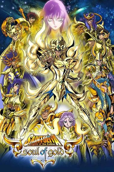 Cavaleiros Do Zodíaco Alma Ouro Soul Gold Leia A Descrição
