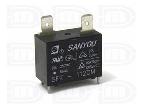 10 Unidades - Rele Ar Condicionado Split Sanyou Sfk-112dm